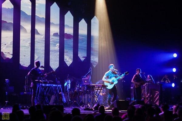 Sufjan Stevens live at the Helix